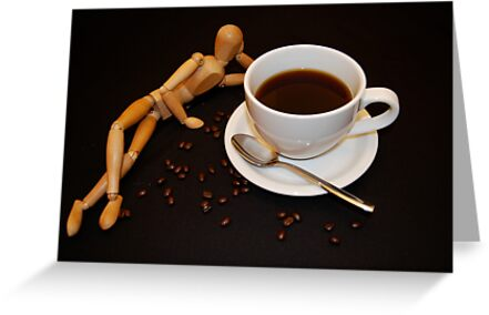 Relaxing Cup Of Coffee by Pamela Hubbard