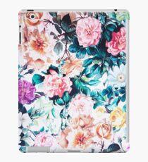 Vinilo o funda para iPad Rosas ruborizadas verdes modernas de la acuarela del verde floral