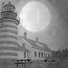Maine Lighthouse by Gene Cyr