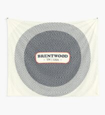 Brentwood   Retro Badge Wall Tapestry