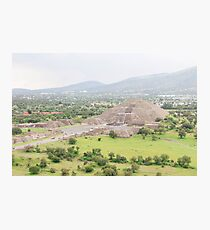TEOTIHUACAN Photographic Print
