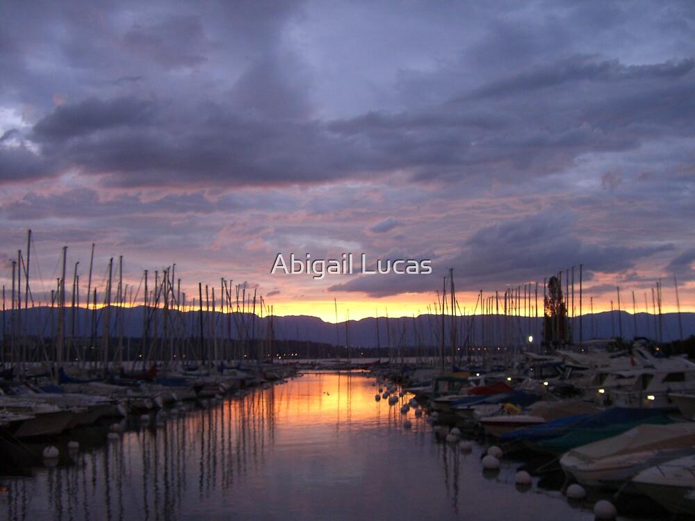 Lake Geneva, Switzerland by Abi Skeates
