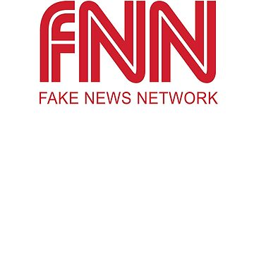 FNN fake news network Funny logo School Student Shirt by Odettemon