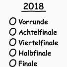 To-Do-List 2018 (Football / Worldchampion / Worldchampion) by MrFaulbaum