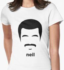 neil Women's Fitted T-Shirt