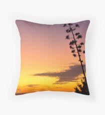 Autumn in the beach - HDR Throw Pillow
