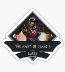 League of Legends GAREN Sticker