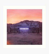 Arcade Fire - Everything Now Art Print