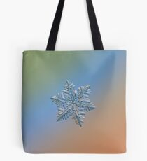 Real snowflake - 13 February 2017 - 5 Tote Bag