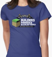 Been Around the Block - Minecraft Shirt Women's Fitted T-Shirt