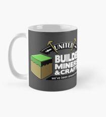 Um den Block gewesen - Minecraft Shirt Tasse (Standard)