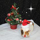Merry Little Christmas Santa Cupcake by AnnDixon