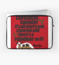 A Christmas Sweater - 1b Laptop Sleeve