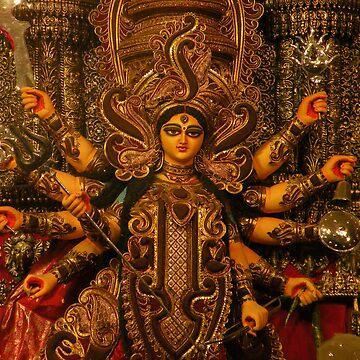 Devi Durga by reactdevelopers
