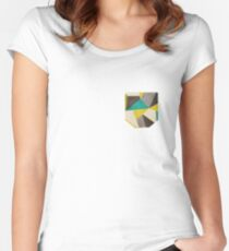 Polygons Women's Fitted Scoop T-Shirt
