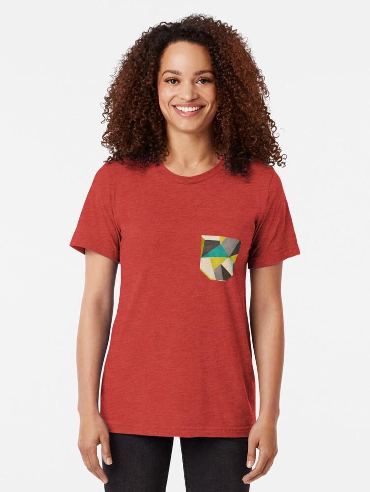 Alternative Ansicht von Polygone Vintage T-Shirt