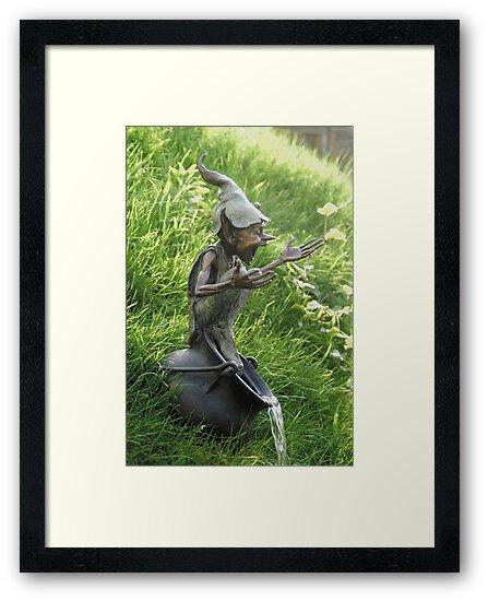 Cauldron Fountain by David Goode