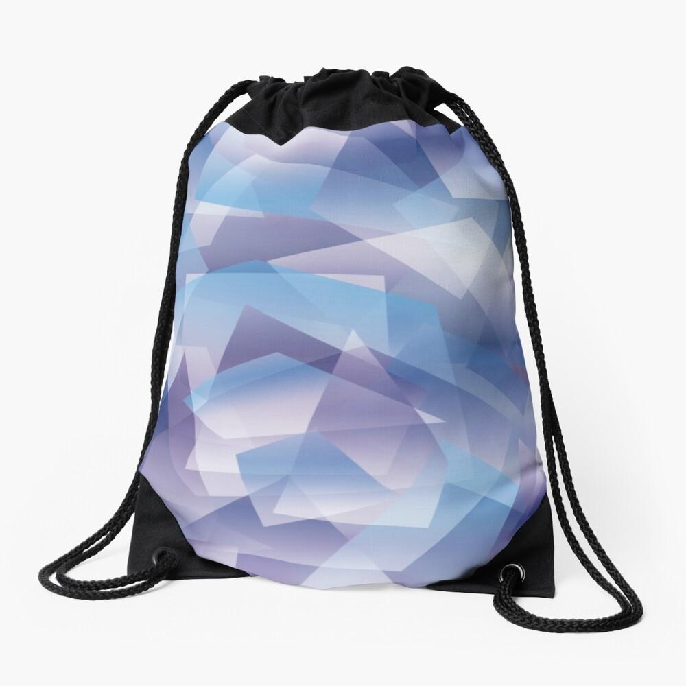 Abstract geometric pattern Mochila saco
