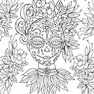 Sugar Skull. by sue mochrie