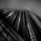 Downtown Toronto Fogfest No 10 by Brian Carson