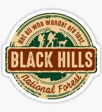 Black Hills National Forest Sticker