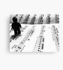 Brickography Pictures - Allegro Canvas Print