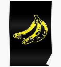 Bunch of Warhol Bananas Poster