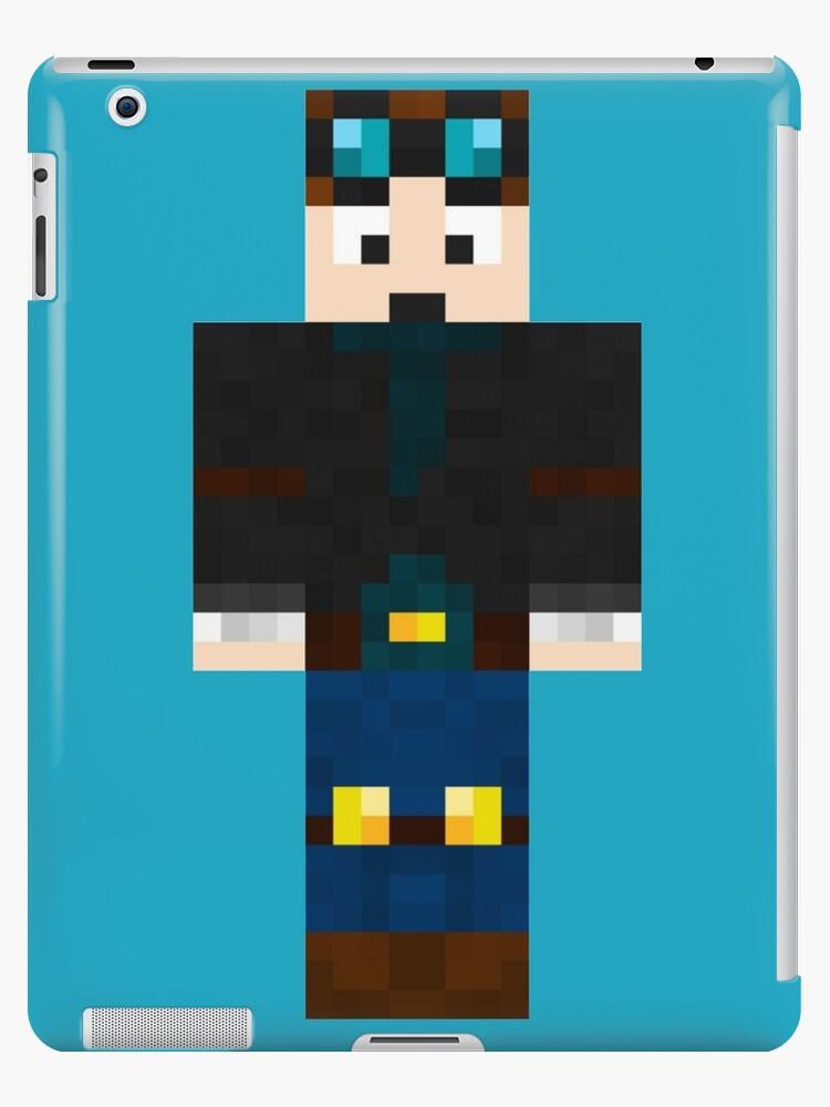 DanTDM Minecraft Skin IPad Cases Skins By Amitdavidov Redbubble - Minecraft skins fur tablet
