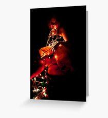 Christmas Lights 2 Greeting Card