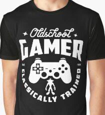 Oldschool Gamer - Playstation Graphic T-Shirt