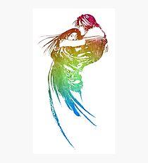 -FINAL FANTASY- Final Fantasy VIII Rainbow Logo Photographic Print