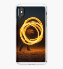 Fire Spinning iPhone Case/Skin