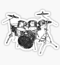 Drums Sticker