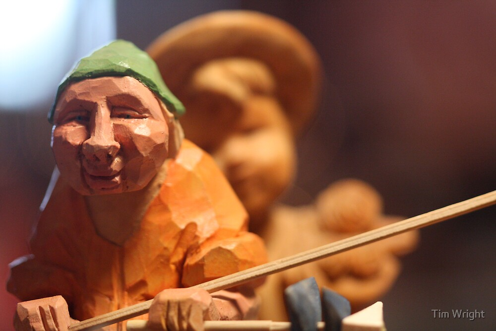 Wood Carving by Tim Wright