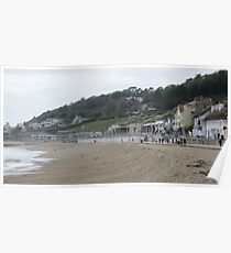 The Beach, Lyme Regis Poster