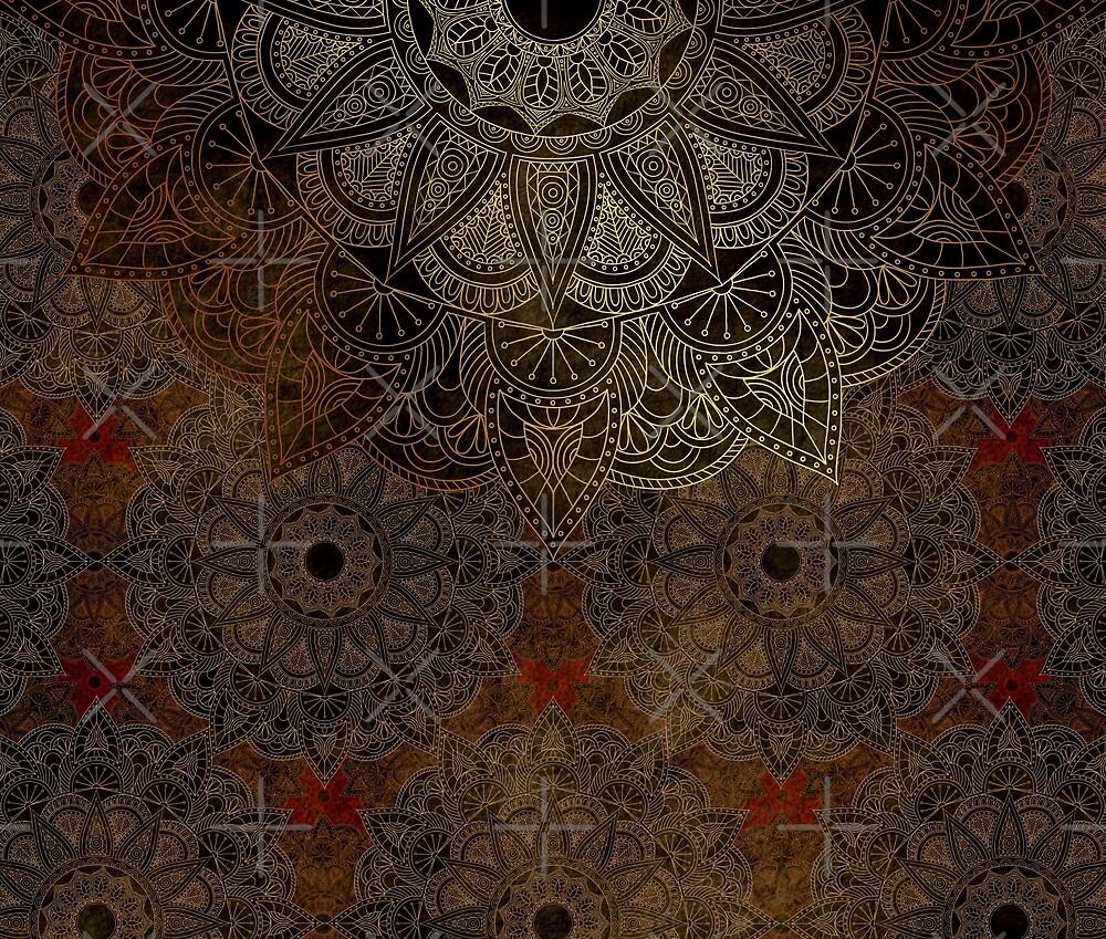 Mandala - Bronze by aleibanez
