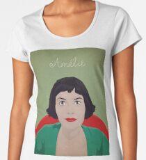 Amelie illustration Camiseta premium para mujer