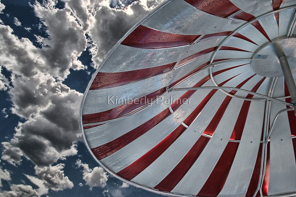 Cloudy Umbrella by Kimberly Palmer