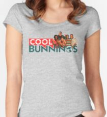 48ea0097d3 Bunnings Warehouse and Cool Runnings Shirt Women's Fitted Scoop T-Shirt