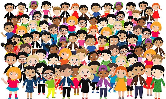 "Niños De Diferentes Nacionalidades: ""children Of Different Races And Nationalities"" Posters By"