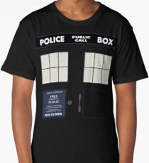 Classic Tardis Door Long T-Shirt
