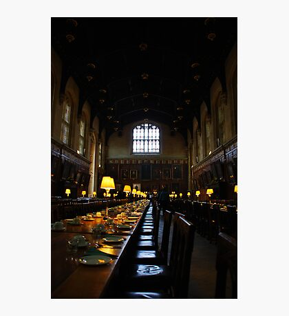 Dining Hall, Christ's College, Oxford. Photographic Print