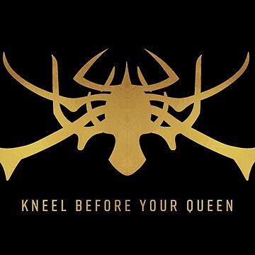 Kneel Before Your Queen by ladybeadesign