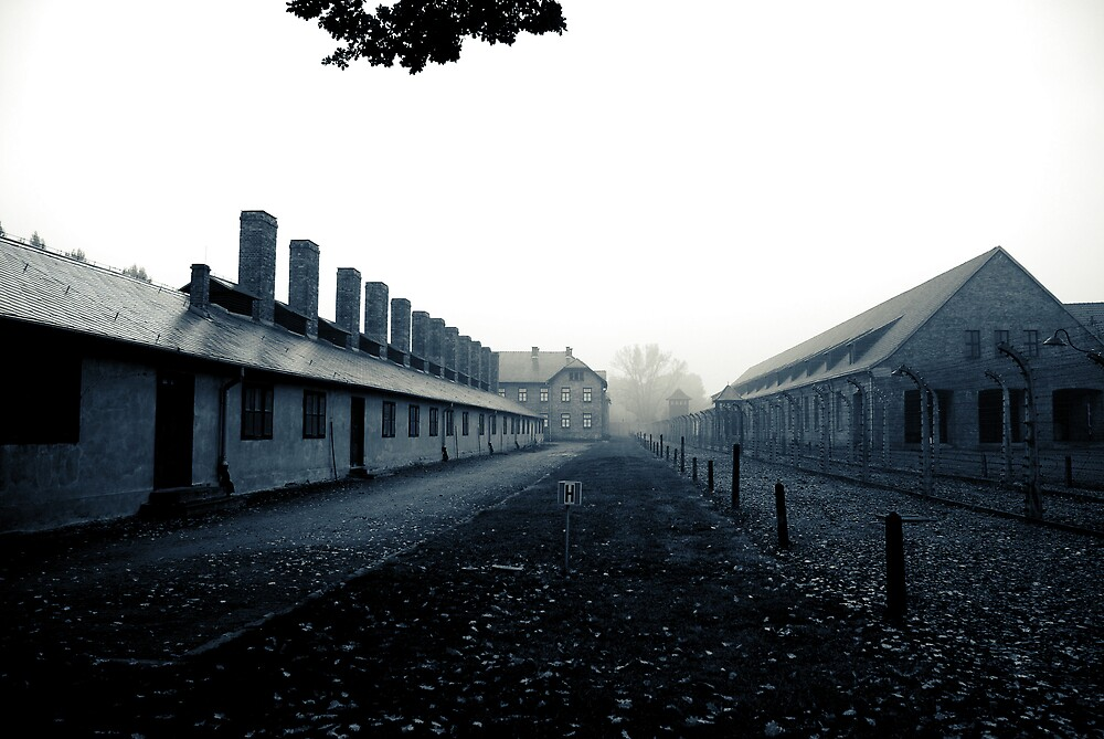 Auschwitz by onetonshadow