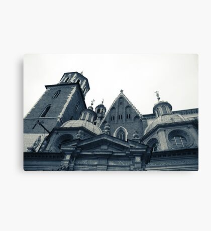 On a happier note Canvas Print