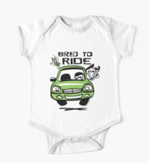 Bred To Ride One Piece - Short Sleeve
