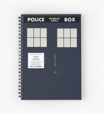 New Who Spiral Notebook