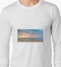 Sunset during a storm in Outer Banks T-Shirt