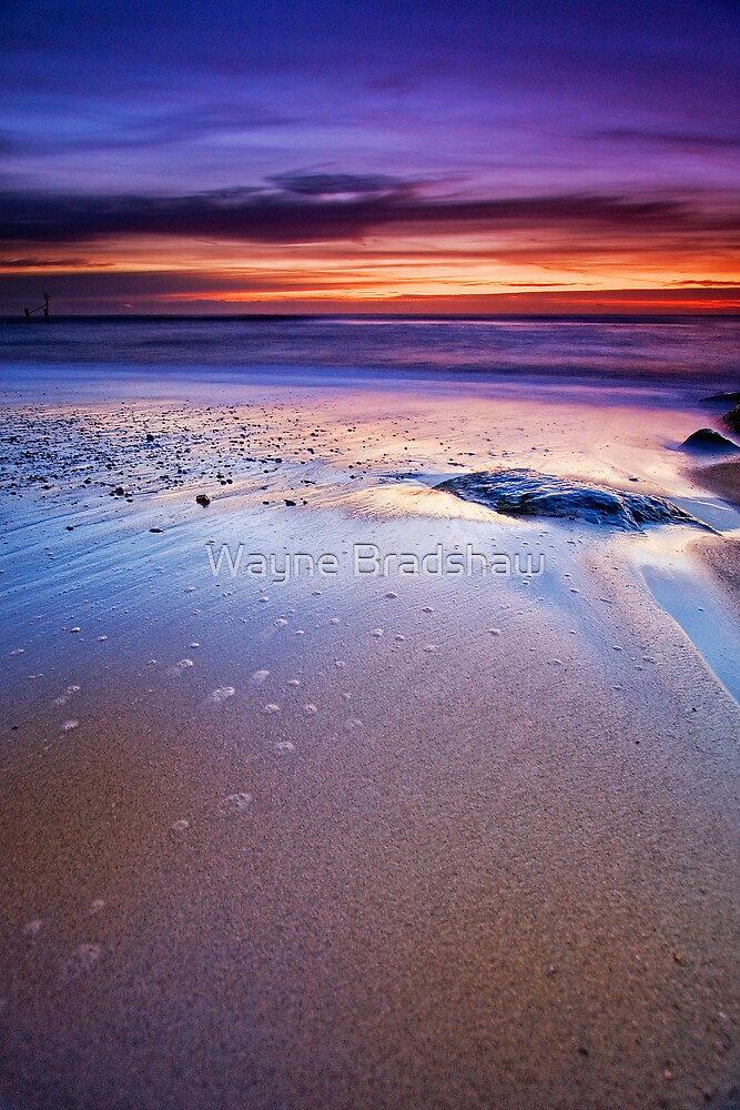 Southwold Beach Suffolk 11. by Wayne Bradshaw