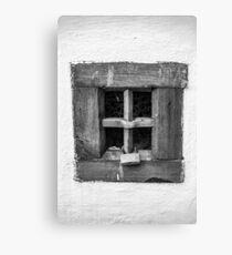 Window Lock Canvas Print